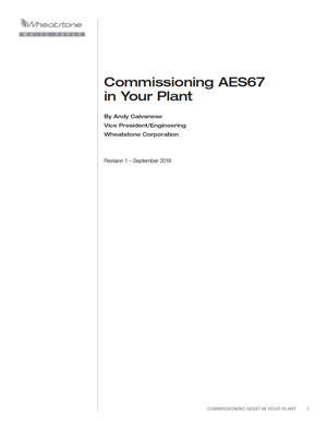 Commissioning AES67 Thumbnail